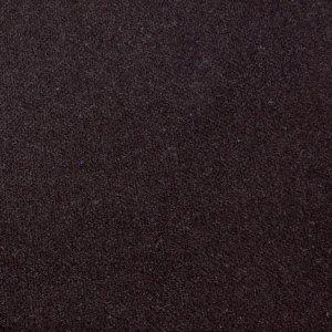 Plusz Gładki ciemny brąz Image 0