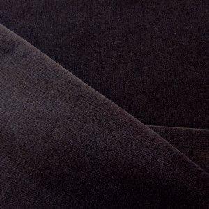 Plusz Gładki ciemny brąz Image 1